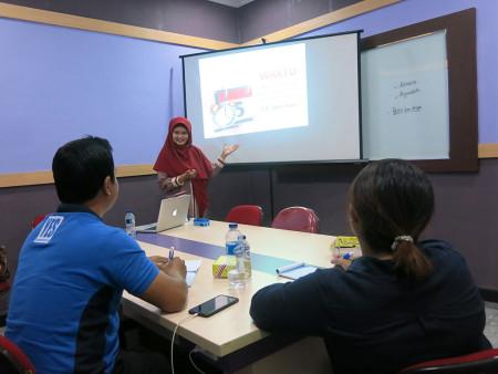 Pelatihan Hubungan Masyarakat (HUMAS) dan Pelayanan Informasi Universitas Udayana Bali Juni 2019