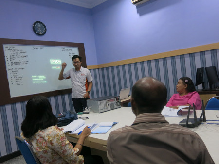 Pelatihan Teknologi Informasi Administrator Jaringan Komputer DISKOMINFO Kabupaten Kupang 27 Juni 2019