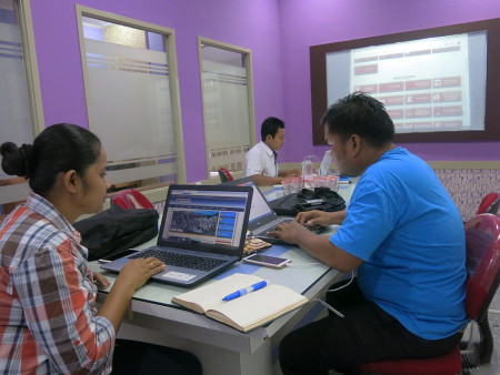 Bimtek Administrator Website Portal OPD DISKOMINFO Kabupaten Sabu Raijua Juli 2019