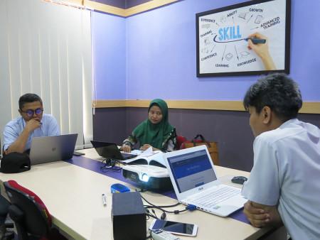 Pelatihan Jurnalistik Web dan Manajemen Konten Kementerian Komunikasi dan Informatika Republik Indonesia Juli 2019