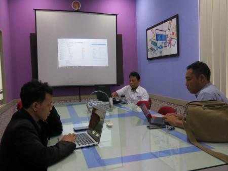 Pelatihan Pengelolaan Data Center Unit Pelaksana Teknis (UPT) TIK Universitas Pendidikan Ganesha Bali Juli 2019