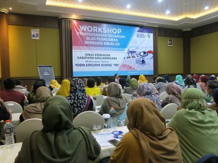 Pelatihan Pengembangan SDM UPT Puskesmas BLUD Dinas Kesehatan Kabupaten Banjarnegara Provinsi Jawa Tengah Juli 2019
