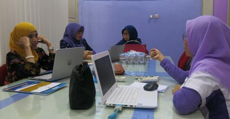 Pelatihan Perkantoran Elektronik PT. BPR Syariah Baktimakmur Indah Kabupaten Sidoarjo Juli 2019