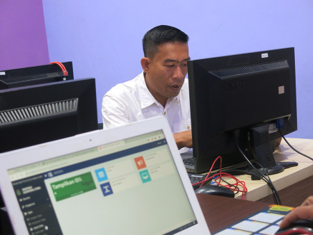 Pelatihan Tata Kelola Aplikasi SIMDATA-INFO Dinas Komunikasi dan Informatika (DISKOMINFO) Provinsi Sumatera Utara Juli 2019