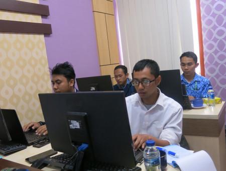 Pelatihan Teknologi Informasi (TI) Dinas Perpustakaan dan Kearsipan Kota Yogyakarta Juli 2019
