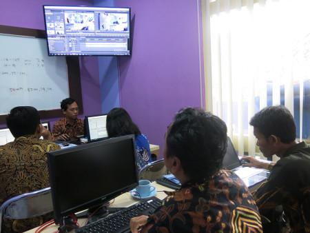 Pelatihan Video Editing Direktorat Sumber Daya Manusia (SDM) Universitas Gajah Mada Yogyakarta Provinsi DIY Juli 2019