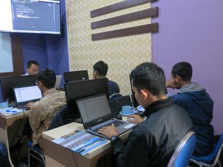Pelatihan Web Programming Tingkat Lanjut Dinas Perpustakaan dan Kearsipan Kota Yogyakarta Juli 2019