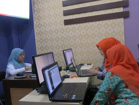 Pelatihan E-Filing Dinas Ketahanan Pangan Kabupaten Kotawaringin Timur Agustus 2019