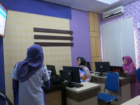 Pelatihan E Office Dinas Ketahanan Pangan Kabupaten Kotawaringin Timur Provinsi Kalimantan Tengah Agustus 2019