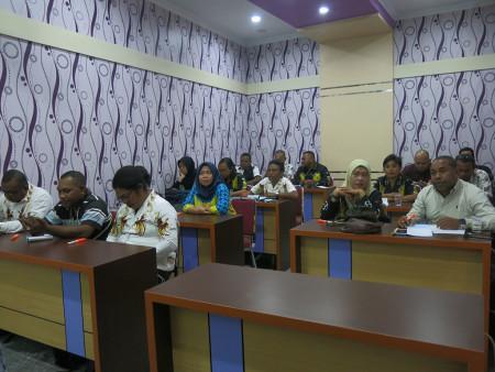 Pelatihan Pengelolaan Keuangan Daerah Sekretariat DPR Papua Provinsi Papua Agustus 2019