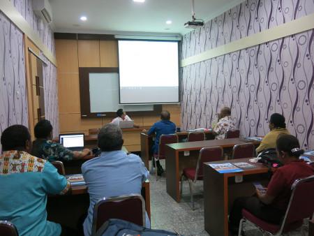Pelatihan Pengelolaan Website Pemerintah Sekretariat DPR Papua Provinsi Papua Agustus 2019