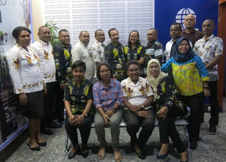 Pelatihan Pengembangan SDM Sekretariat DPR Papua Provinsi Papua Agustus 2019