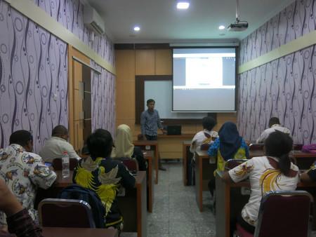 Pelatihan Pengembangan SDM dengan materi Pengelolaan Keuangan Daerah Agustus 2019