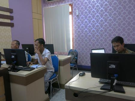 Pelatihan Teknologi Informasi Politeknik Negeri Lampung Provinsi Lampung Agustus 2019