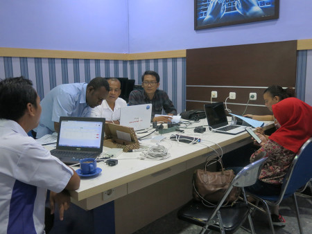 Pelatihan Administrator Jaringan MikroTik Router OS Dinas Komunikasi, Informatika, Persandian dan Statistik Provinsi Papua Barat September 2019