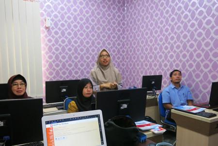 Pelatihan E-Office Fakultas Kehutanan Universitas Lambung Mangkurat Kota Banjarbaru Provinsi Kalimantan Selatan September 2019