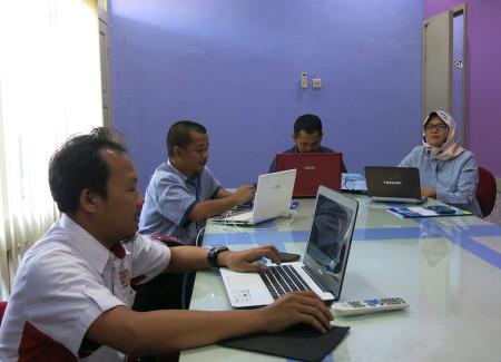 Pelatihan E - Office Fakultas Kehutanan Universitas Lambung Mangkurat Kota Banjarbaru September 2019