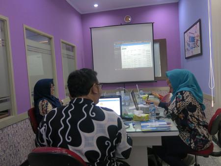 Pelatihan Komputerisasi Kearsipan Elektronik dengan aplikasi e-Filing UNDIP Semarang September 2019