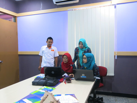Pelatihan Perkantoran Elektronik Dinas Kependudukan dan Pencatatan Sipil Kabupaten Cilacap Provinsi Jawa Tengah September 2019