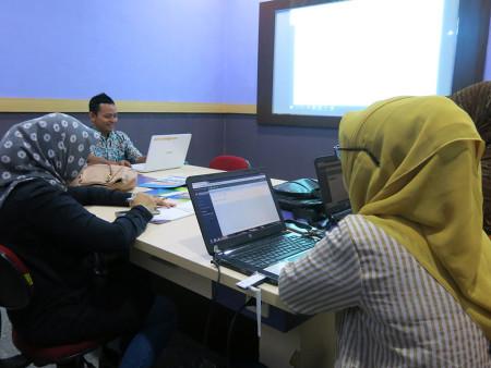 Pelatihan Perkantoran Elektronik Sistem Penjagaan Otomatis Pelayanan Kepegawaian dengan aplikasi SIJAGOAN 27 September 2019
