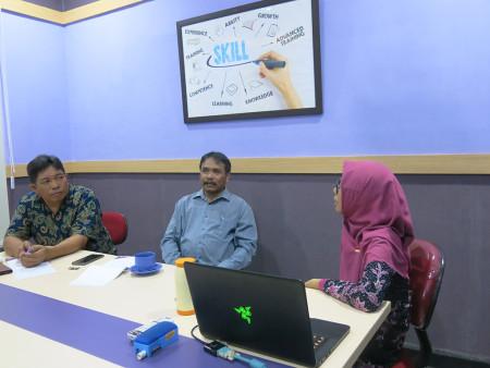 Pelatihan Keamanan Informasi (KAMI) Dinas Komunikasi dan Informatika Kabupaten Belitung Provinsi Kepulauan Bangka Belitung Oktober 2019