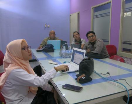 Pelatihan Pengelolaan Data Statistik Sektoral (SIMDATA-INFO) DISKOMINFO Kabupaten Belitung Timur Oktober 2019