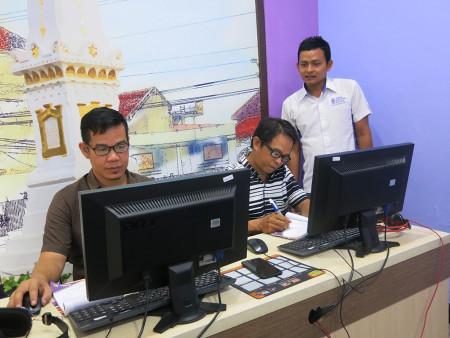 Pelatihan Pengelolaan Website Pemerintah (BKPSDM) Kabupaten Barito Selatan Oktober 2019