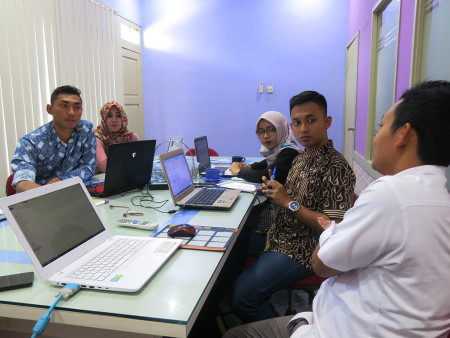 Pelatihan Perkantoran Elektronik Rumah Sakit Umum Daerah Ngudi Waluyo Wlingi Blitar Provinsi Jawa Timur Oktober 2019