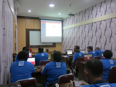 Pelatihan SKP Elektronik Inspektorat Kabupaten Boven Digoel Oktober 2019