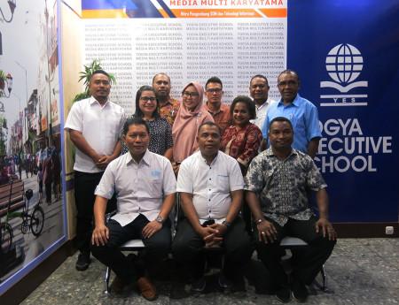 Pelatihan Administrator Sistem Informasi Administrasi Perkantoran DISDIK Provinsi Papua November 2019