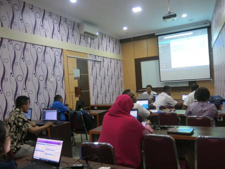 Pelatihan Administrator Sistem Informasi Administrasi Perkantoran (SIAP) November 2019
