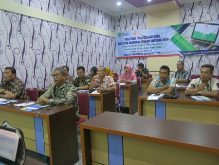 Pelatihan Aplikasi SIMDATA-INFO DISKOMINFO Kabupaten Kutai Kartanegara November 2019
