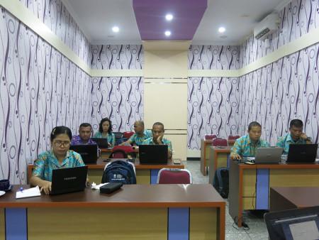 Pelatihan Komputerisasi Kerasipan Elektronik e-Filing Sekretariat Majelis Rakyat Papua November 2019