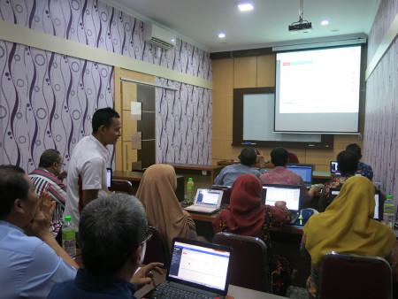 Pelatihan Pengelolaan Data Statistik Sektoral dengan aplikasi SIMDATA-INFO November 2019
