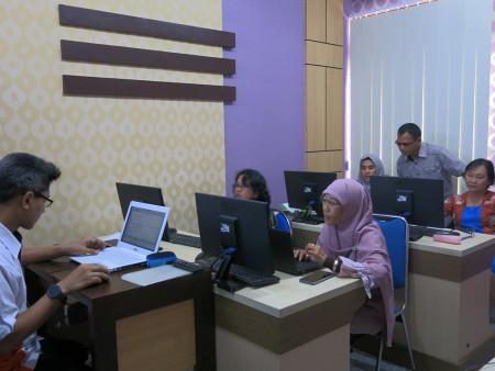 Pelatihan Perkantoran Elektronik Dinas Pendidikan (DISDIK) Kabupaten Barito Selatan November 2019