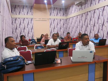 Pelatihan Perkantoran Elektronik Dinas Pendidikan (DISDIK) Provinsi Papua November 2019