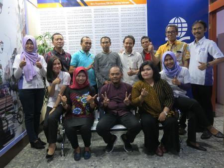 Pelatihan Perkantoran Elektronik Fakultas Hukum Universitas Diponegoro November 2019
