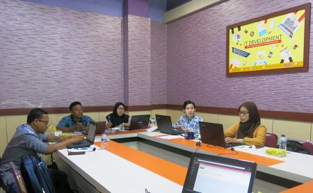 Pelatihan Perkantoran Elektronik Program Pascasarjana Universitas Tadulako Palu Provinsi Sulawesi Tengah November 2019