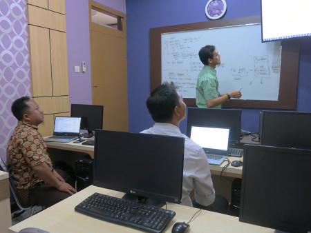 Pelatihan Sistem Informasi Geografis (SIG) Tingkat Dasar Dinas Pertanian Kabupaten Grobogan Provinsi Jawa Tengah November 2019