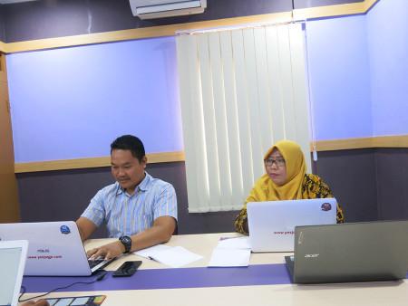 Pelatihan Teknologi Informasi (TI) Dinas Perpustakaan dan Arsip Kabupaten Penajam Paser Utara November 2019