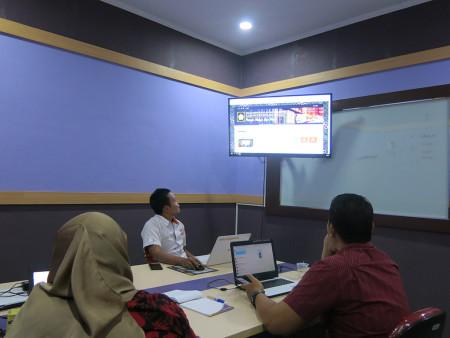 Pelatihan Web Design Tingkat Dasar Dinas Perpustakaan dan Arsip Kabupaten Penajam Paser Utara November 2019