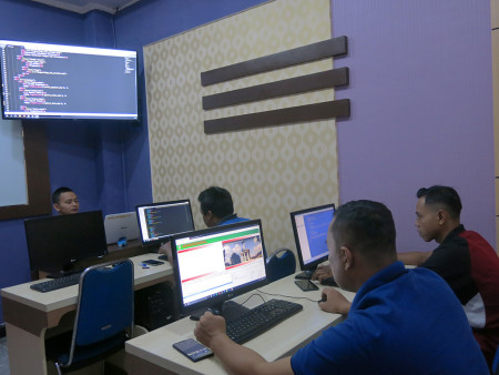 Pelatihan Web Programming Dinas Ketahanan Pangan dan Pertanian Kabupaten Seruyan Provinsi Kalimantan Tengah November 2019