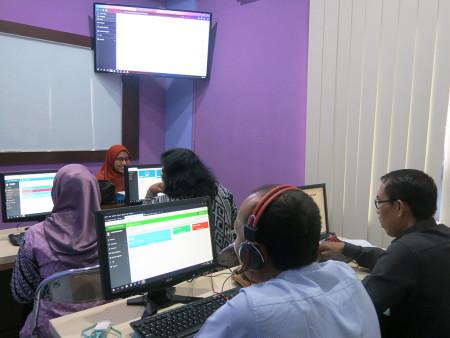 Pelatihan e-Scheduling Fakultas Hukum Universitas Diponegoro November 2019