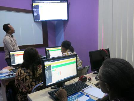 Pelatihan Aplikasi E-Filing Dinas Olahraga dan Pemuda (DISORDA) Provinsi Papua