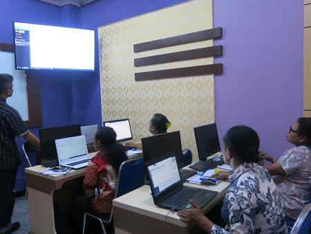 Pelatihan Document Management System (DMS) Dinas Olahraga dan Pemuda (DISORDA) Provinsi Papua