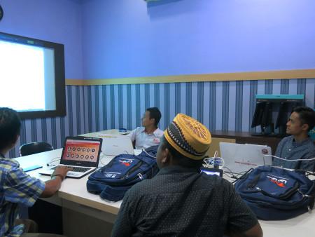 Pelatihan Jurnalistik Web Dinas Komunikasi dan Informatika (DISKOMINFO) Kabupaten Banggai Desember 2019