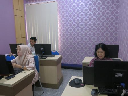 Pelatihan Kearsipan Elektronik E-Filing Politeknik Negeri Sriwijaya Kota Palembang Desember 2019