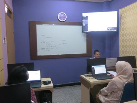 Pelatihan Kearsipan Elektronik menggunakan Aplikasi E-Filing Politeknik Negeri Sriwijaya Kota Palembang Desember 2019