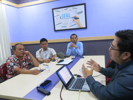 Pelatihan Manajemen Keuangan dan Akuntansi Perguruan Tinggi Fakultas Hukum Universitas Diponegoro Desember 2019