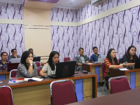Pelatihan Pengelolaan dan Penatausahaan Persediaan dengan SIMTORI